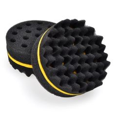 2016 Rounded Double Side Magic Twist Hair Sponge Afro Braid Style Dreadlock Coils Sponge Brush ( 2 pcs) ** Want to know more, click on the image.