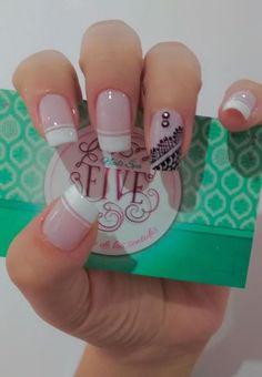 Manicure And Pedicure, Gel Nails, Acrylic Nails, Nail Polish, Cute Nails, Pretty Nails, Nail Decorations, Cute Nail Designs, French Nails