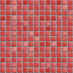 Texture seamless red mosaic
