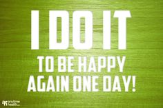 I do it so I can be happy | Anytime Health | Reasons to workout