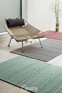 Effortlessly cool! This coveted rug inspired by animal print will cause a stir…