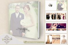 From Here To Eternity Album Template by Wedding Album Cafe on @creativemarket