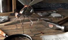 Dragonfly - Wallpapers UK - Backgrounds For all your Devices! 3d Wallpaper Uk, Metal Windows, 3d Background, Victorian Art, Design Art, 3 D, Steampunk, Digital Art, Home