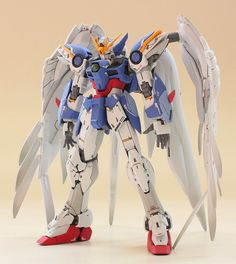 GUNDAM GUY: RG 1/144 Wing Gundam Zero Custom EW - Painted Build