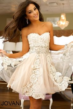 short cocktail wedding dress