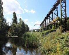Former industrial site becomes the Landschaftspark Duisburg-Nord Park, Germany. Click image for link to overview of great ubran parks and visit the slowottawa.ca boards >> http://www.pinterest.com/slowottawa