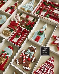Beautifully decorated cookies!