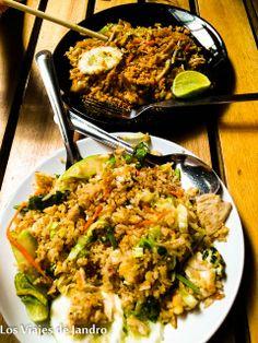 Pad Thai y Fried Rice en Railay (Tailandia)