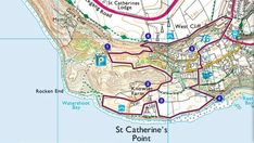 Enjoy a walk to the most southerly point of the Isle of Wight at the National Trust's St Catherine's Down. Os Maps, Cliff Edge, Dry Stone, Isle Of Wight, National Trust, Old Postcards, Portsmouth, Dog Friends, Lighthouse