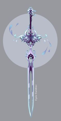 Weapon adopt by Epic-Soldier on DeviantArt - Sword Sword Fantasy, Fantasy Art, Espada Anime, Sword Drawing, Pretty Knives, Armas Ninja, Drawing Anime Clothes, Anime Weapons, Ninja Weapons