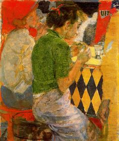 Snack Bar (1954) Isabel Bishop, so beautiful - a moment captured