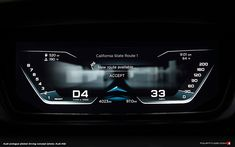 Audi Prologue Piloted Driving Concept, MY 2015 Graph Design, Design Logo, Design Poster, Vespa, Car Ui, Future Transportation, Interior Sketch, Interior Design, Dashboard Design