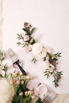 DIY Textured Styling Backdrop