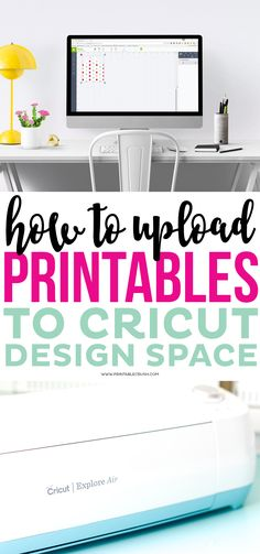 How to Upload Printables to Cricut Design Space Learning new software can be intimidating without the right resources. Use this video tutorial to learn how to upload Printables to Cricut Design Space! Cricut Explore Projects, Cricut Explore Air, Cricut Vinyl Projects, Cricut Help, Cricut Air, How To Use Cricut, Silhouette Cameo, Silhouette Cutter, Silhouette Machine