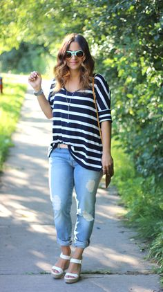 Something About That | stripes, sunnies and summer | http://somethingaboutthat.com