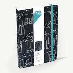 "V & A ""Village Church"" Lined Journal featuring fabric design by Hilda Durkin £7.99 available now from our NEW Online store"