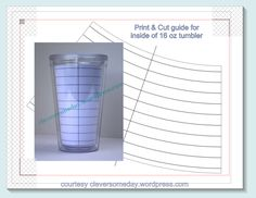 Yeti Tumbler Template Freebie Clever Someday Tumbler