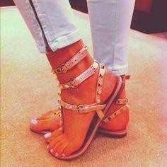 Spring Shoe Trend: Gladiator Sandals