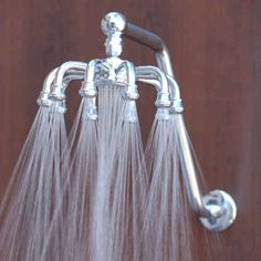 Swap out your showerhead for this amazing one.