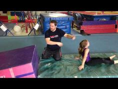 Modify for preschool handstands with coach All the handstand forward roll drills Toddler Gymnastics, Gymnastics Levels, Gymnastics Room, Preschool Gymnastics, Tumbling Gymnastics, Gymnastics Skills, Gymnastics Videos, Gymnastics Coaching, Gymnastics Training
