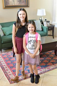 back to school 2016 kaila and brooklin
