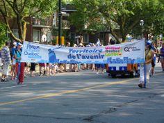 FOTOS: Desfile del 24 Junio en Montreal por Día de Quebec