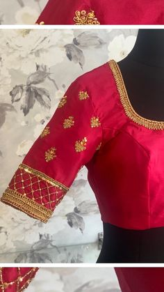 intishbychintya on Instagram: Made to order blouses by @intishbychintya Wait to see what's in the back. . . . . #designerblouses #blousedesigns #blousesleevedesign… Sleeve Designs, Blouse Designs, Blouses, The Originals, Instagram, Blouse, Woman Shirt, Hoodie, Top