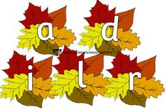 FREE Autumn Leaves Alphabet Early Years (EYFS) Printable Resource — Little Owls Resources - FREE Phase 1 Phonics, Nursery Practitioner, Alphabet Display, Early Years Teacher, Tuff Spot, Initial Sounds, Eyfs, Nursery Rhymes, Learning Activities
