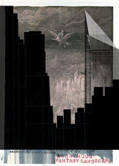 Beniamino Servino. Anonymous Fantasy Landscape 2.