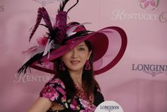 Longines Kentucky Oaks 139 Fashion Contest Kentucky Derby Fashion, Derby Day, Love Hat, Headpieces, Mad, Events, News, Pretty, Inspiration