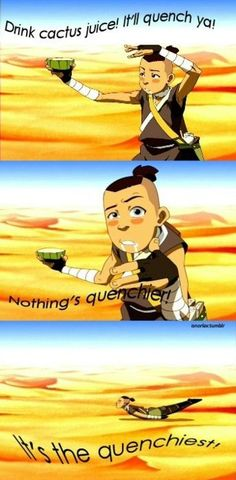 HAHAHA oh Sokka (Only fans of Avatar: The Last Airbender will get the humor of this pic, sorry about the rest of you)