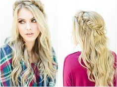 fall makeup, fishtail hairstyle, LWP by Jess Fishtail Hairstyles, Wedding Hairstyles, Fall Makeup, Wedding Hair And Makeup, Braids, Make Up, Dreadlocks, Hair Styles, Beauty
