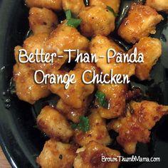 Better Than Panda Homemade Orange Chicken: BrownThumbMama.com