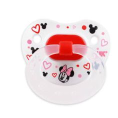 MINNIE MOUSE 2-Pack Orthodontic Pacifiers from NUK®, size 2 (6-18M)