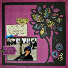 layout by Lynn Darda using CTMH Laughing Lola paper