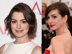 Capelli: il taglio giusto e i trucchi per chi ha un naso importante come Anne Hathaway