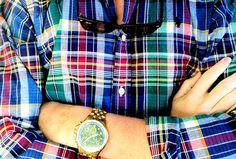Blue squares. - MenStyle1- Men's Style Blog