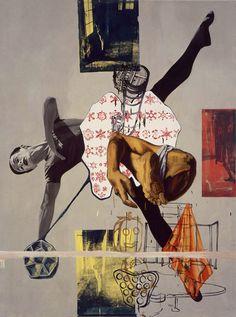 David Salle - Self Made Labyrinth, 1992