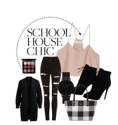 """Untitled #80"" by elsa-ebervik on Polyvore featuring TIBI, Topshop, Tom Ford, CLUSE, Object Collectors Item, Kate Spade and MAC Cosmetics"