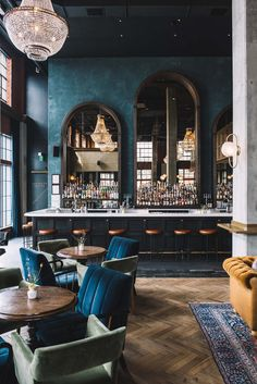 restaurant interieur AD Design Show is almost read - Bar Lounge, Hotel Lounge, Lounge Design, Office Lounge, Lounge Decor, Design Room, Back Bar Design, Lobby Lounge, House Bar Design
