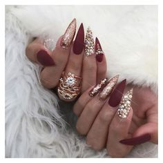 Nails via Polyvore featuring beauty products and nail care