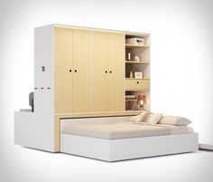 ORI Transformable Furniture Micro Apartment, Studio Apartment, Tiny Living, Living Room, Tiny House Community, Folding Furniture, Student House, Complete Bathrooms, Property Prices