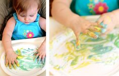 We Tried It! DIY Edible Fingerpaints