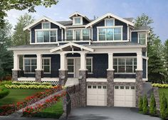 Perfect Home for Sloped View Lot - 23160JD - 01