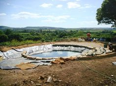Natural Swimming Pools Warwickshire, Swimming Pond Design Staffordshire, Eco Pools Warwickshire, Water Garden Design Staffordshire, Aqua Lan... - Pinterest pic picks by RetoxMagazine.com