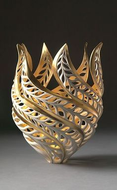 GlassArt.net | Jennifer McCurdy Pottery Art For Sale Bronze Sculpture, Sculpture Art, Sculptures, Jennifer Mccurdy, Glass Art Design, 3d Design, Old Art, Pottery Art, Pottery Ideas