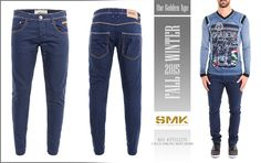 SMK DENIM&Co. | CALÇA STRONG BLUE DENIM