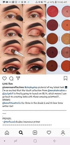 Ring the alarm Makeup Eye Looks, Eye Makeup Steps, Smokey Eye Makeup, Skin Makeup, Eyeliner Makeup, Beauty Makeup Tips, Makeup Inspo, Maquillage On Fleek, Makeup Morphe
