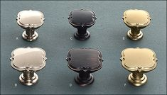 Grace Revitalize Knobs - Hardware