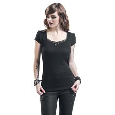 Vive Maria  T-Shirt  »Vintage Dream«   Buy now at EMP   More Gothic  T-shirts  available online ✓ Unbeatable prices!